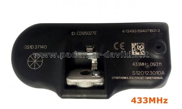Naudotas TPMS Daviklis Mazda GS1D37140, S120123010