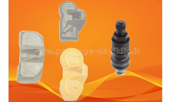 Naujas TPMS Ventilis HUF  juodas(former Beru ) G1.2, G2.4, G3.41, G3.42, SKA921 / Alligator